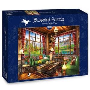 """Bluebird Puzzle (70336) - Dominic Davison: """"Mount Cabin View"""" - 1000 pièces"""