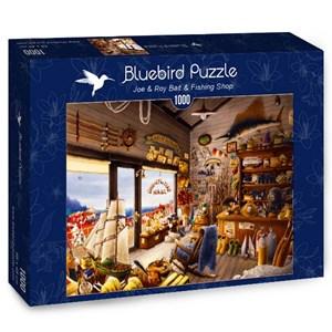 """Bluebird Puzzle (70321) - """"Joe & Roy Bait & Fishing Shop"""" - 1000 pièces"""