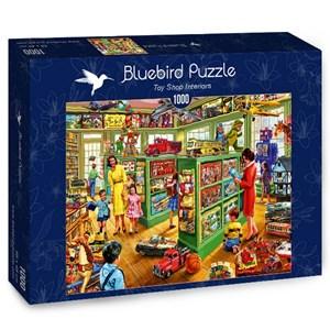 """Bluebird Puzzle (70324) - Steve Crisp: """"Toy Shop Interiors"""" - 1000 pièces"""