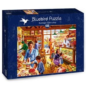 """Bluebird Puzzle (70326) - Steve Crisp: """"Nostalgic Cake shop"""" - 1000 pièces"""