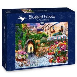 """Bluebird Puzzle (70334) - Jason Taylor: """"The Flower Market"""" - 1000 pièces"""