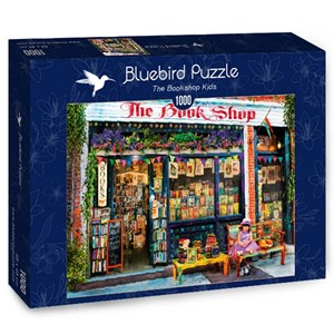 "Bluebird Puzzle (70327) - Aimee Stewart: ""The Bookshop Kids"" - 1000 pièces"