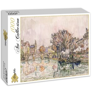 """Grafika (00494) - Paul Signac: """"Le Pont Neuf, Paris, 1928"""" - 1000 pièces"""