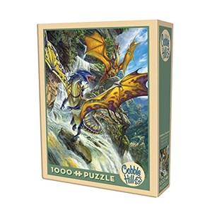 "Cobble Hill (51808) - Matthew Stewart: ""Waterfall Dragons"" - 1000 pièces"