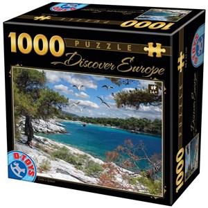 """D-Toys (74898) - """"Corfu"""" - 1000 pièces"""