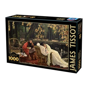 "D-Toys (75079) - James Tissot: ""A Convalescent"" - 1000 pièces"