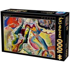 "D-Toys (75116) - Vassily Kandinsky: ""Painting with Red Spot"" - 1000 pièces"
