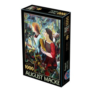 """D-Toys (75154) - August Macke: """"Deux Filles"""" - 1000 pièces"""
