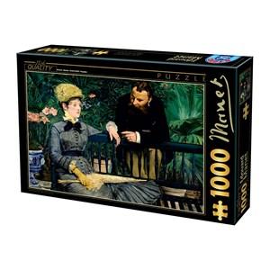 """D-Toys (75239) - Edouard Manet: """"Dans la Serre, 1879"""" - 1000 pièces"""