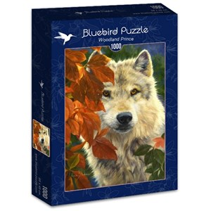 "Bluebird Puzzle (70074) - Lucie Bilodeau: ""Woodland Prince"" - 1000 pièces"
