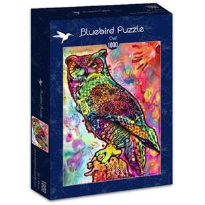 """Bluebird Puzzle (70093) - Dean Russo: """"Owl"""" - 1000 pièces"""