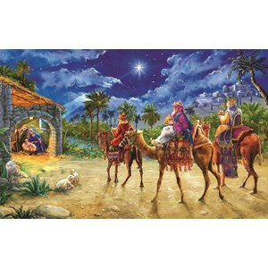 """SunsOut (60602) - Marcello Corti: """"Journey of the Magi"""" - 550 pièces"""