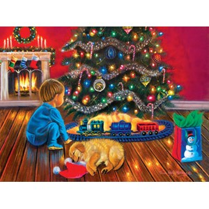 """SunsOut (35897) - Tricia Reilly-Matthews: """"Under the Tree"""" - 1000 pièces"""