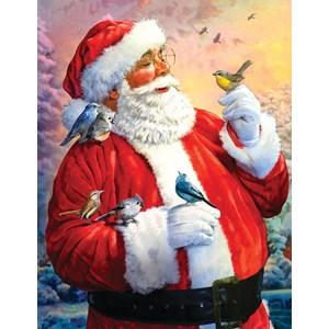 "SunsOut (50730) - Larry Jones: ""Morning Meeting with Santa"" - 1000 pièces"