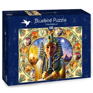 "Bluebird Puzzle (70175) - Andrew Farley: ""Tutankhamun"" - 1000 pièces"
