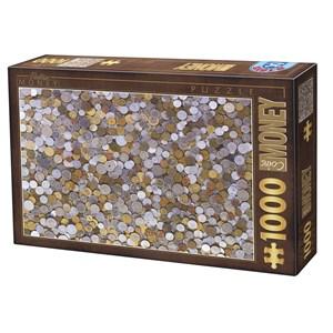 """D-Toys (76441) - """"Pièces de Monnaie"""" - 1000 pièces"""