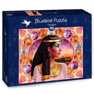 """Bluebird Puzzle (70129) - Andrew Farley: """"Cleopatra"""" - 1000 pièces"""