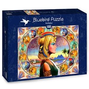 "Bluebird Puzzle (70130) - Andrew Farley: ""Nefertari"" - 1000 pièces"