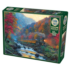 "Cobble Hill (80229) - Mark Keathley: ""Smoky Train"" - 1000 pièces"
