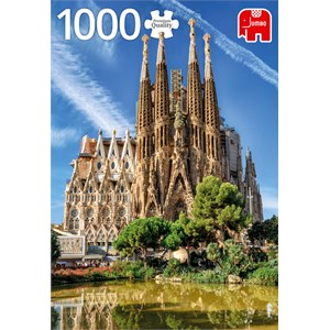 "Jumbo (18835) - ""Sagrada Familia View, Barcelona"" - 1000 pièces"