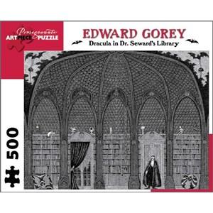 "Pomegranate (AA711) - Edward Gorey: ""Dracula in Dr. Seward's Library"" - 500 pièces"