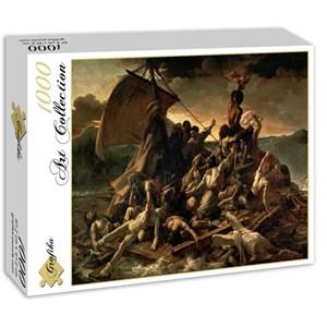"""Grafika (00426) - Théodore Géricault: """"Le Radeau de La Méduse, 1817-1818"""" - 1000 pièces"""
