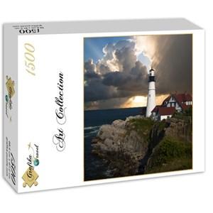 "Grafika (01257) - ""Lighthouse"" - 1500 pièces"