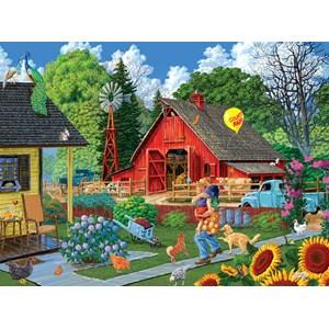 "SunsOut (38919) - Joseph Burgess: ""Home from the Fair"" - 1000 pièces"