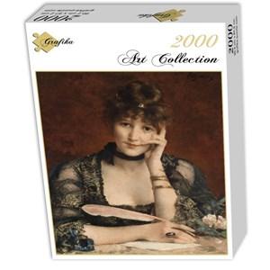 "Grafika (00480) - Alfred Stevens: ""La Lettre"" - 2000 pièces"