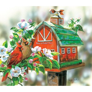 """SunsOut (30633) - Janene Grende: """"Farm to Market Road"""" - 550 pièces"""