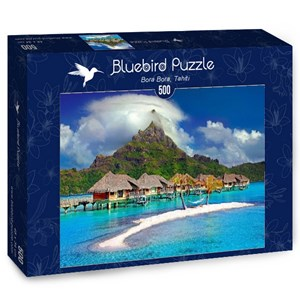"Bluebird Puzzle (70005) - ""Bora Bora, Tahiti"" - 500 pièces"