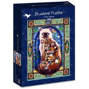 """Bluebird Puzzle (70154) - Lewis T. Johnson: """"Cats Galore"""" - 1500 pièces"""