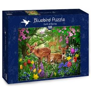 "Bluebird Puzzle (70166) - Ciro Marchetti: ""Spirit of Spring"" - 1500 pièces"