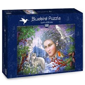 """Bluebird Puzzle (70181) - Ciro Marchetti: """"Spirit of Winter"""" - 1000 pièces"""