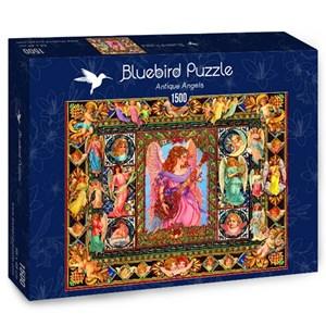 """Bluebird Puzzle (70027) - Lewis T. Johnson: """"Antique Angels"""" - 1500 pièces"""
