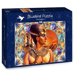 """Bluebird Puzzle (70176) - Andrew Farley: """"Ramesses II"""" - 1000 pièces"""