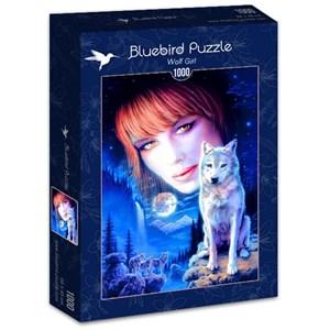 "Bluebird Puzzle (70133) - Robin Koni: ""Wolf Girl"" - 1000 pièces"