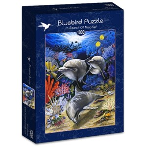 "Bluebird Puzzle (70095) - Dann Spider Warren: ""In Search Of Mischief"" - 1000 pièces"