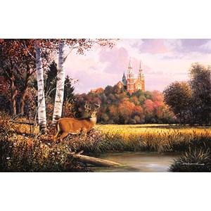 """SunsOut (75137) - George Kovach: """"Sacred Refuge"""" - 550 pièces"""