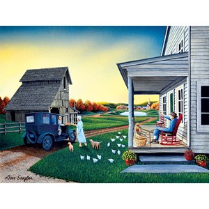 """SunsOut (60309) - Don Engler: """"Mail Call"""" - 1000 pièces"""
