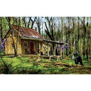 "SunsOut (60739) - Luke Buck: ""Mark's Cabin"" - 550 pièces"