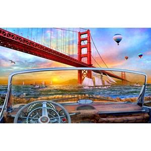 """SunsOut (50069) - Dominic Davison: """"Golden Gate Adventure"""" - 550 pièces"""