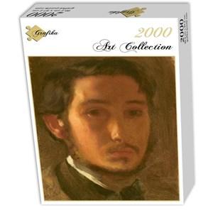 """Grafika (01765) - Edgar Degas: """"Autoportrait avec Col Blanc, 1857"""" - 2000 pièces"""