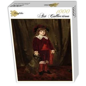"""Grafika (01941) - Mary Cassatt: """"Eddy Cassatt, 1875"""" - 1000 pièces"""