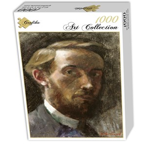 """Grafika (01807) - Edouard Vuillard: """"Autoportrait à l'Age de 21 ans, 1889"""" - 1000 pièces"""