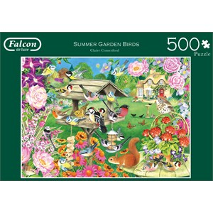 """Falcon (11253) - Claire Comerford: """"Summer Garden Birds"""" - 500 pièces"""