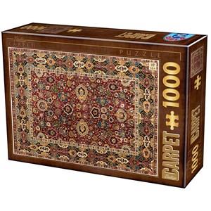 """D-Toys (76908) - """"Vintage Carpet"""" - 1000 pièces"""
