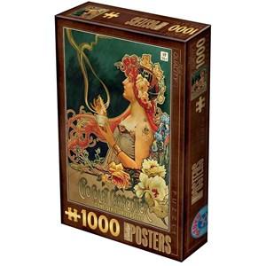 """D-Toys (76892) - """"Chocolat Carpentier"""" - 1000 pièces"""