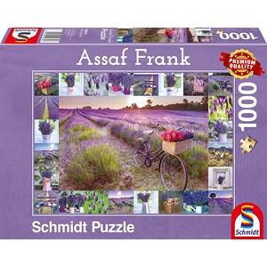 "Schmidt Spiele (59634) - Assaf Frank: ""The Scent of Lavender"" - 1000 pièces"