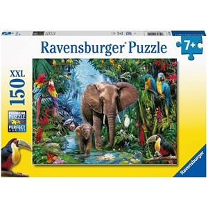 "Ravensburger (12901) - ""Safari Animals"" - 150 pièces"